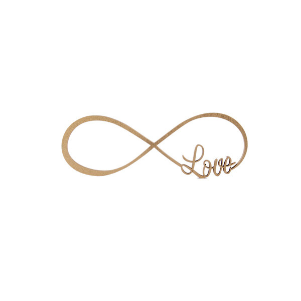 Unendlichkeitszeichen Hochzeit  Unendlichkeitszeichen Love 16 50 € NOGALLERY 3D