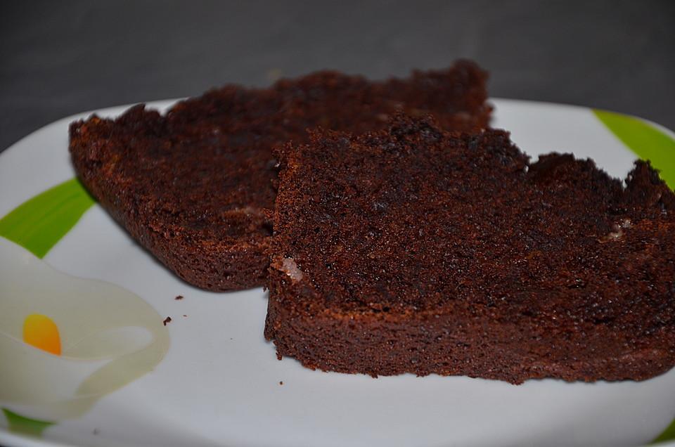 Vegan Kuchen  Saftiger veganer Schoko Bananen Kuchen von alternativ