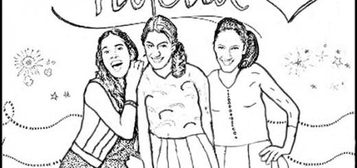 Violetta Ausmalbilder Diego  Violetta 5