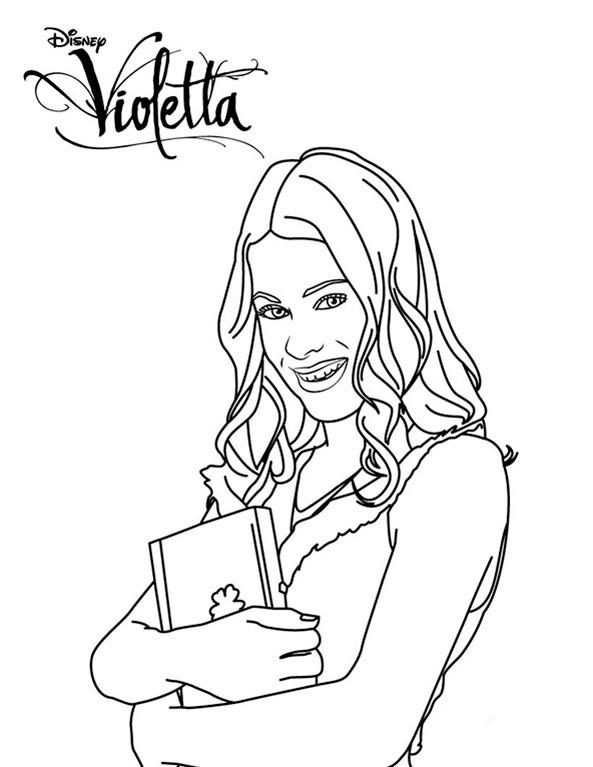 Violetta Ausmalbilder Diego  Violetta 1
