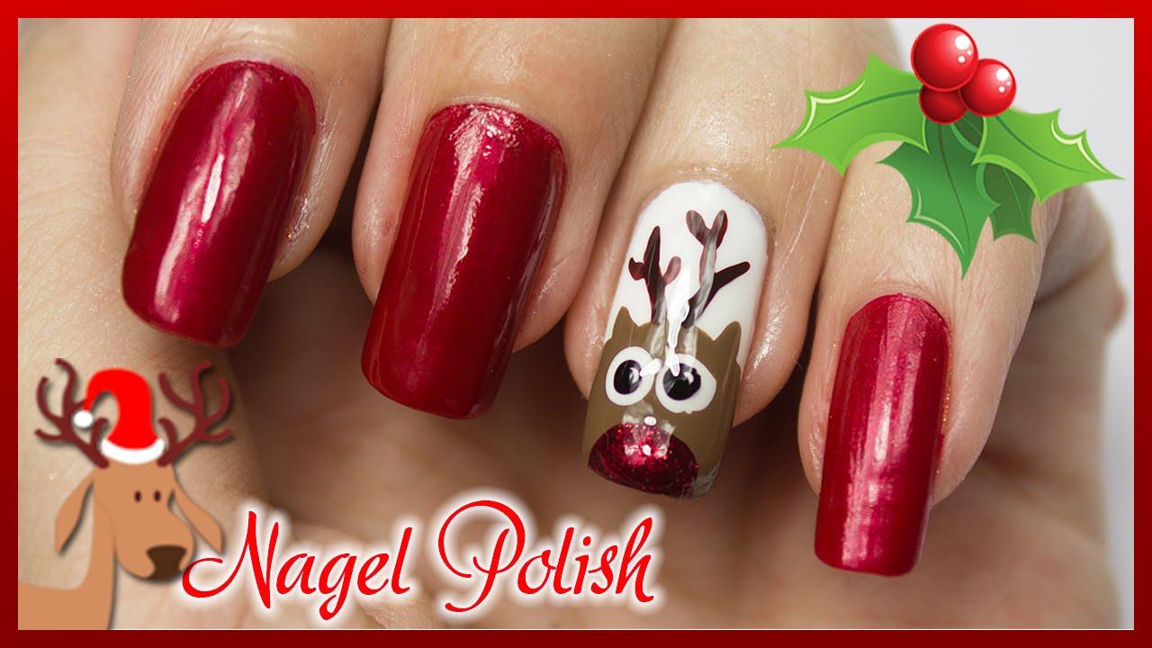 Weihnachts Nageldesign  Nägel für Weihnachten
