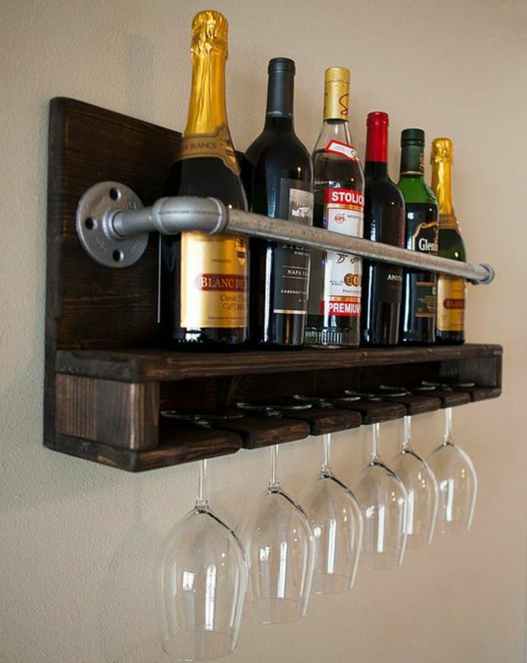 Weinregal Diy  Weinregal selber bauen und Weinflaschen richtig lagern