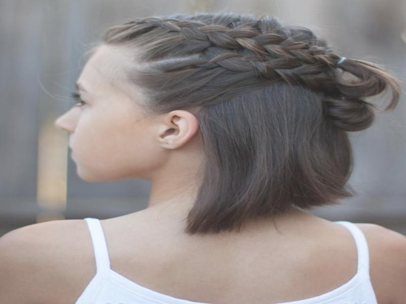 Wiesn Frisuren Kurze Haare  Oktoberfest Frisuren Fã¼R Kurze Haare
