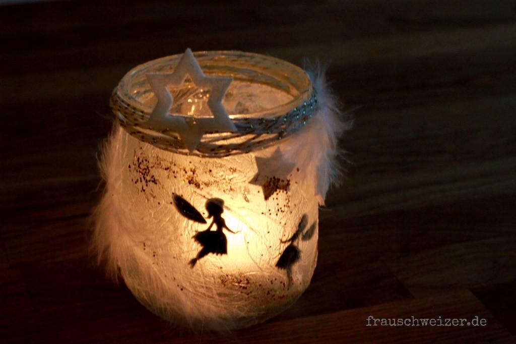 Windlicht Diy  DIY Windlicht Fee im Glas HANDMADE Kultur