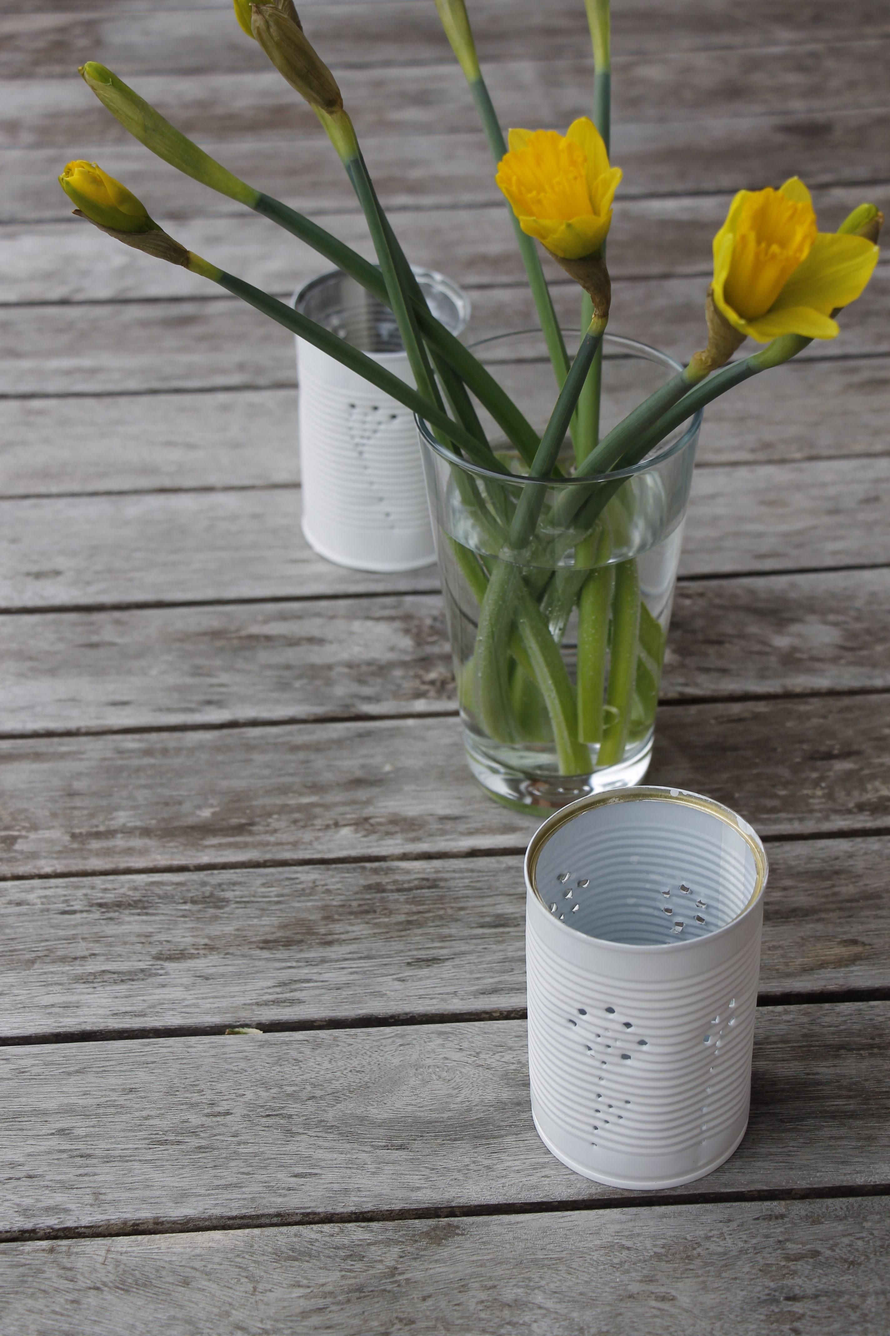 Windlicht Diy  Konservendosen Windlicht DIY Lavendelblog