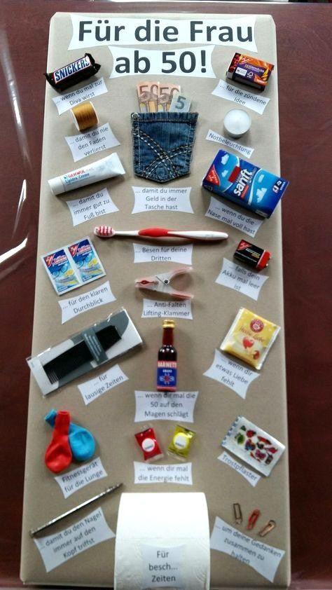 Witzige Geschenkideen Zum Selbermachen  Schöne Ideen Lustige Geschenke Zum 50 Geburtstag Selber