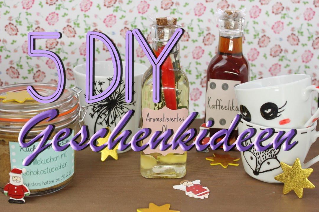 Witzige Geschenkideen Zum Selbermachen  5 DIY Geschenke Geschenkideen zum selber machen zu