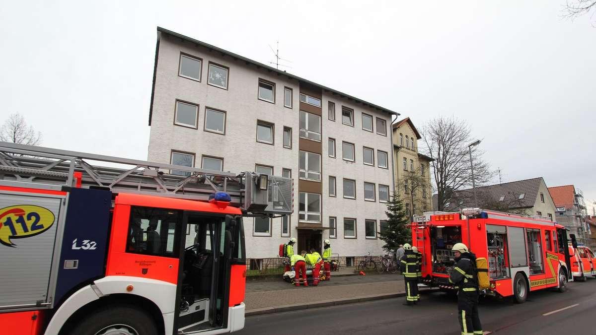 Wohnung Göttingen  Rauch drang aus Wohnung an der Hannoverschen Straße in