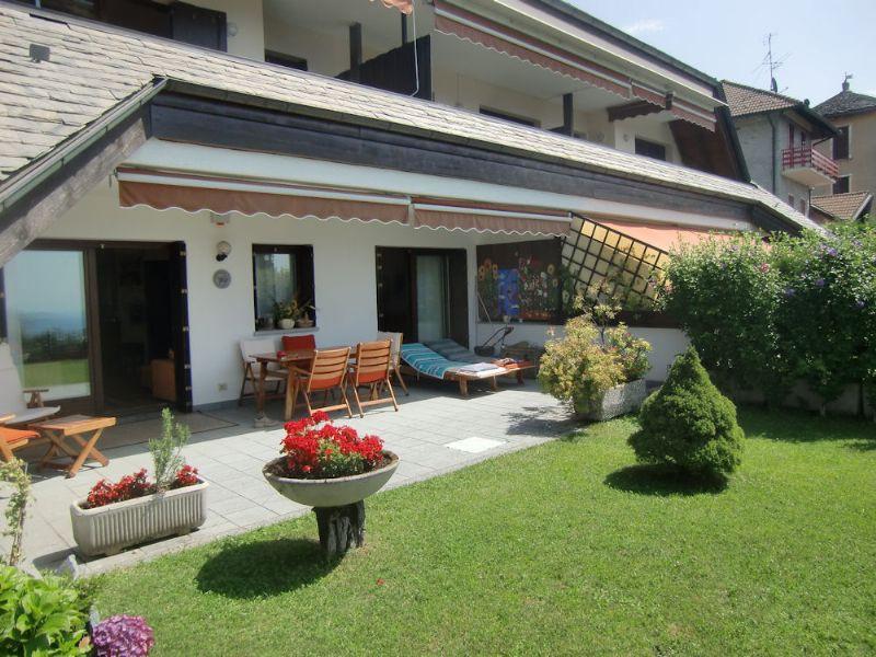 Wohnung Mit Garten Mieten  Verkaufen Wohnung in Premeno Pian di Sole Wohnung mit