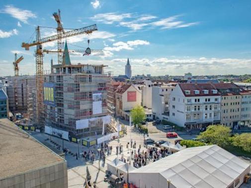 Wohnungen Kiel  Schlossquartier in Kiel 213 Wohnungen werden Ende 2017