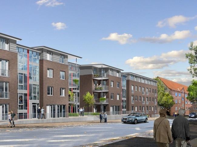Wohnungen Kiel  Barrierearmes Bauen Gewoba Nord baut 83 Wohnungen in Kiel
