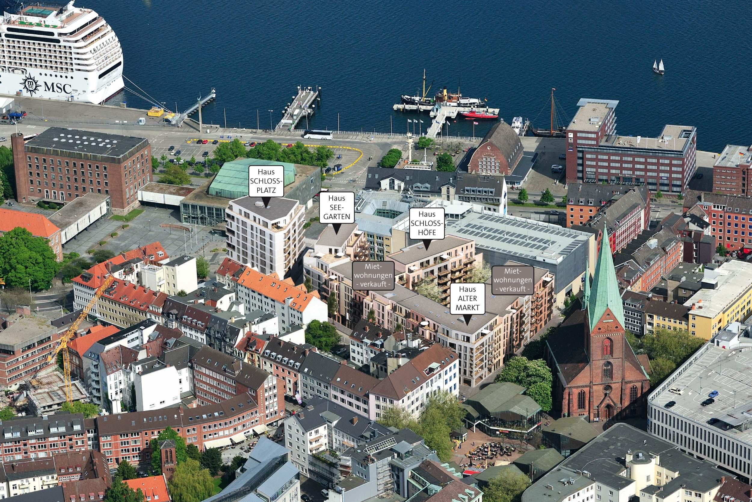 Wohnungen Kiel  Schlossquartier Kiel
