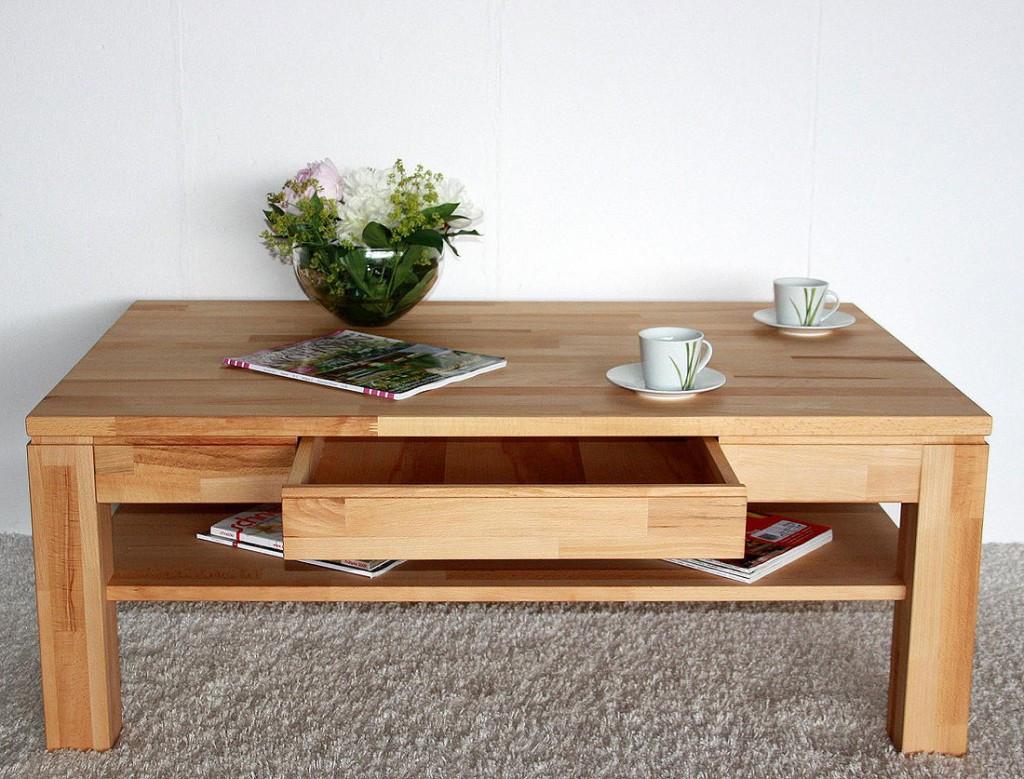Wohnzimmer Tisch  wohnzimmertisch buche massiv – ForAfrica