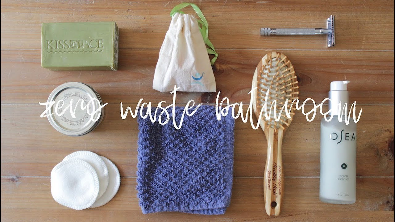 Zero Waste Diy  ZERO WASTE BATHROOM DIY Products No Poo Method