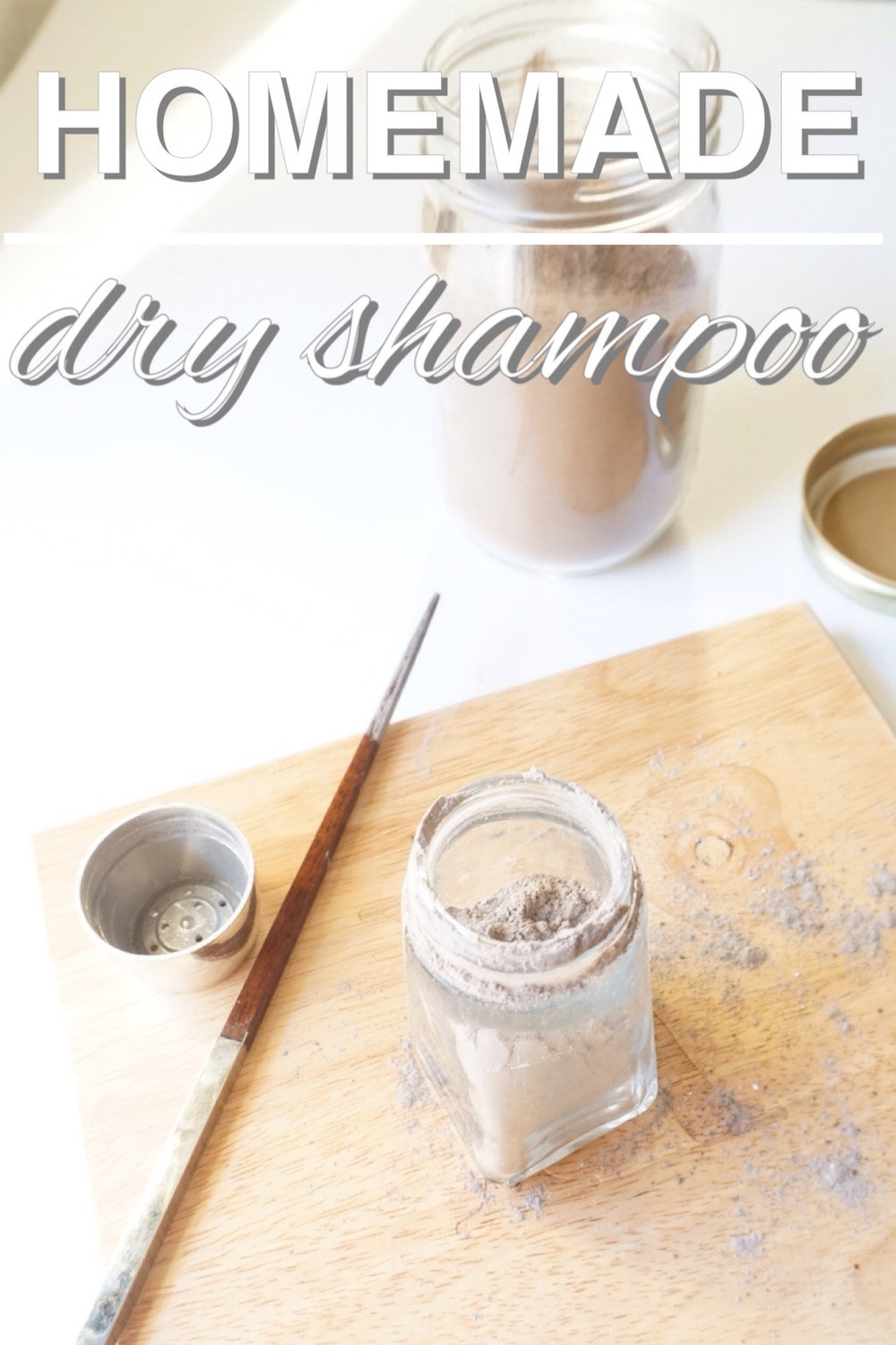 Zero Waste Diy  Homemade Dry Shampoo Going Zero Waste