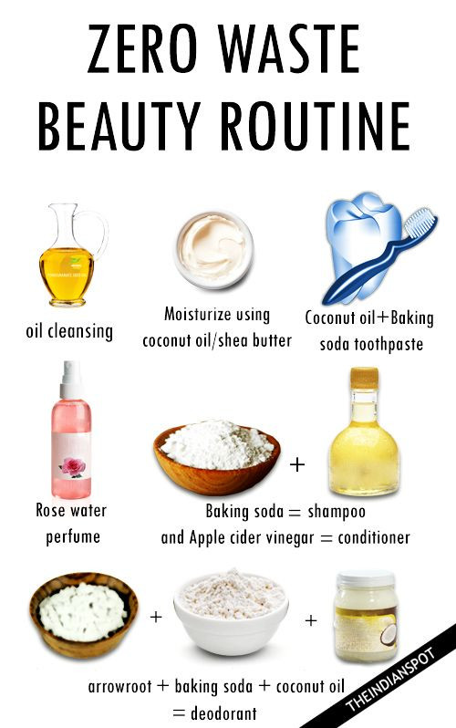 Zero Waste Diy  ZERO WASTE BEAUTY ROUTINE