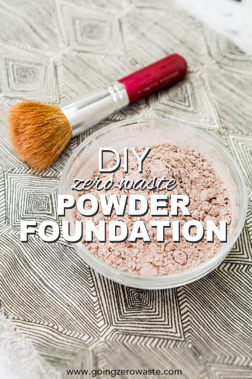 Zero Waste Diy  DIY Zero Waste Powder Foundation Going Zero Waste
