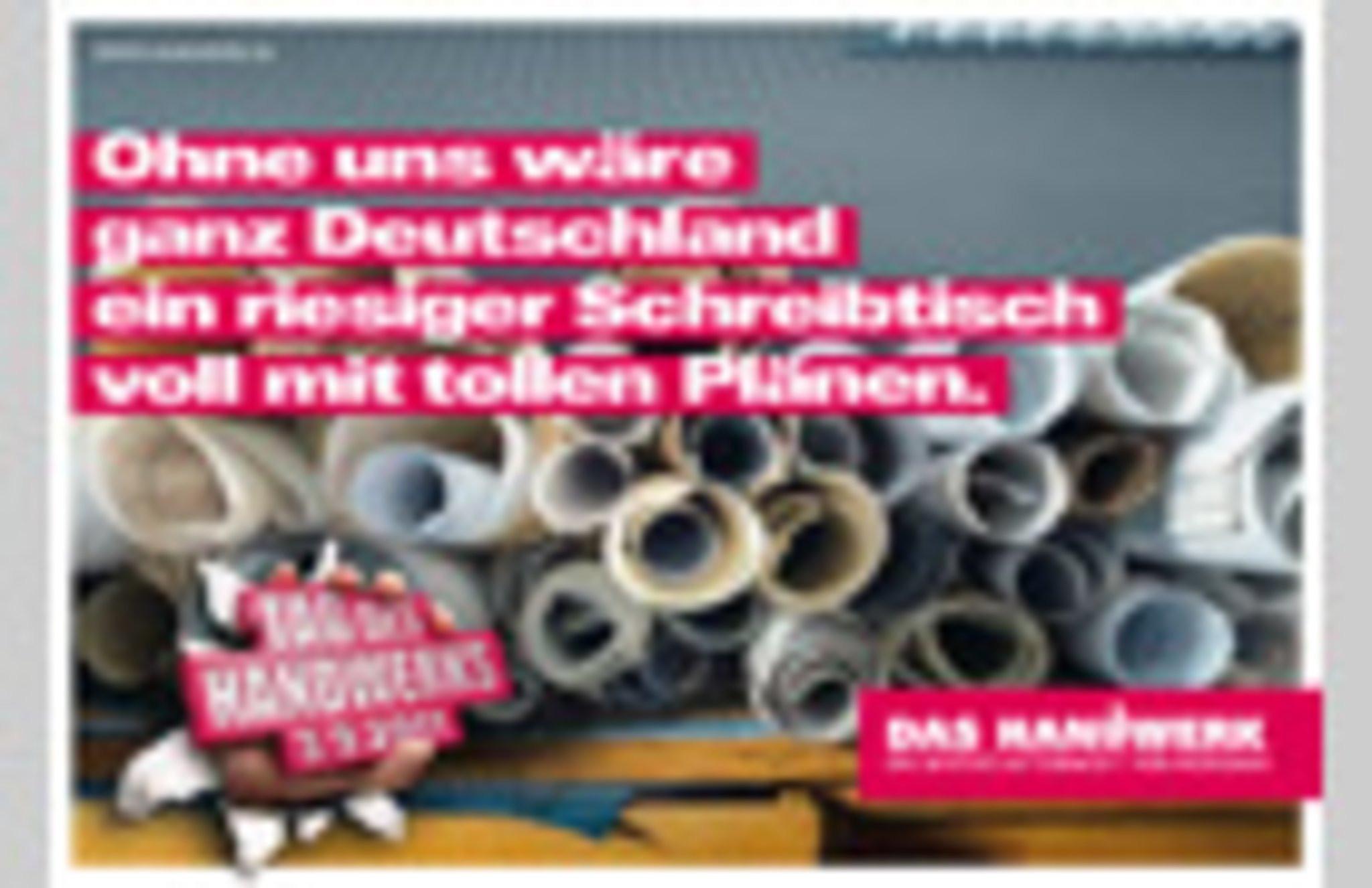 Zulassungsfreies Handwerk Ohne Gesellenbrief  Was wäre das Leben ohne das Handwerk Düsseldorf