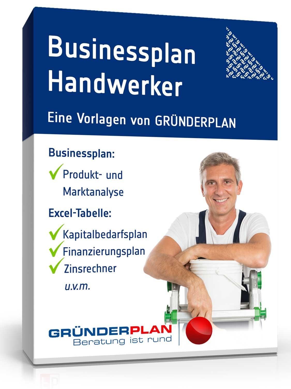 Zulassungsfreies Handwerk Ohne Gesellenbrief  Businessplan Handwerker ohne Meisterbrief von Gründerplan