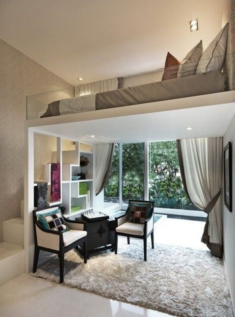 1 Raum Wohnung  1 raum wohnung einrichtungsideen