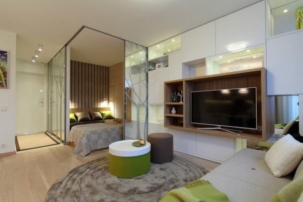 1 Raum Wohnung  Einrichtungsideen 1 zimmer wohnung