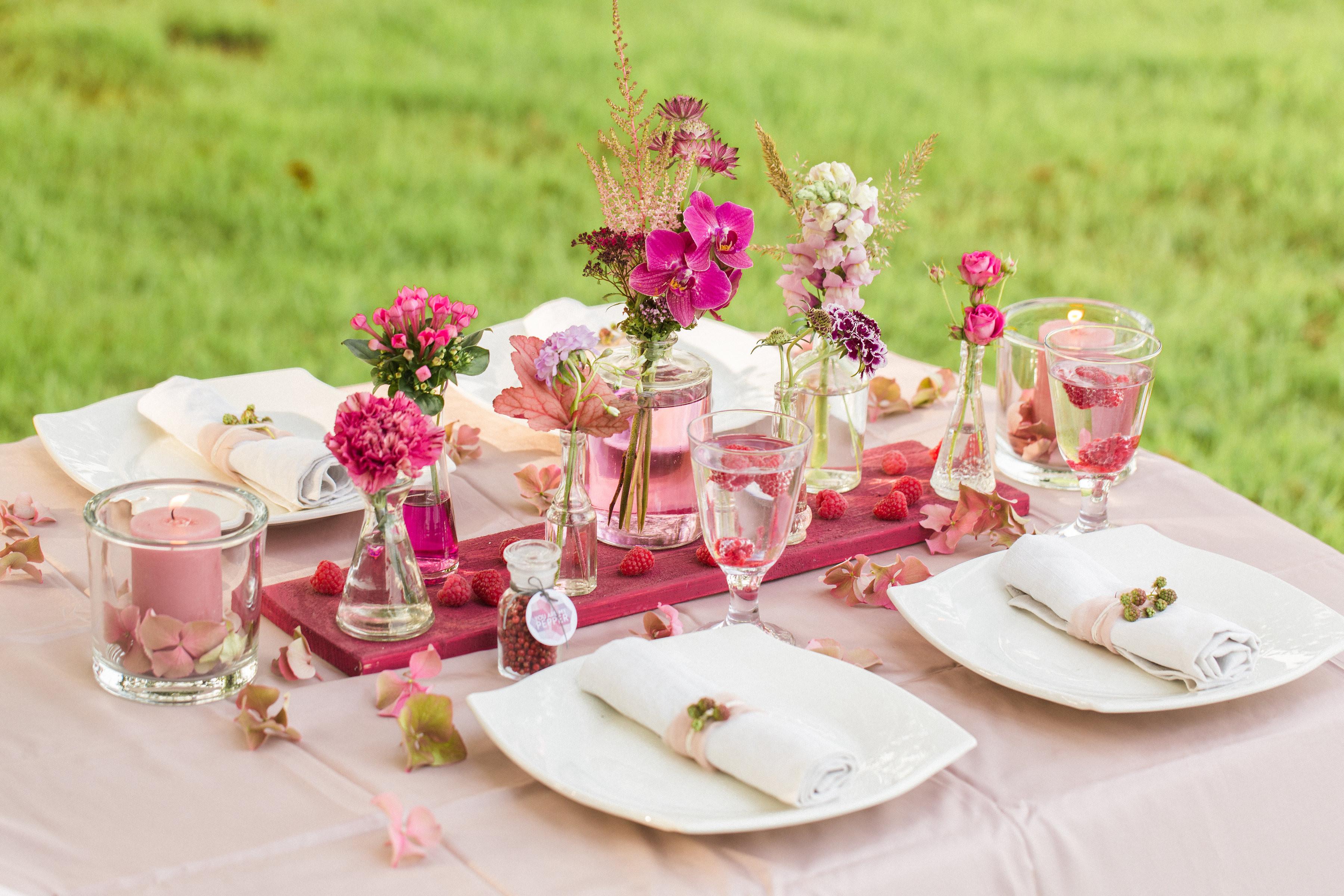 2 Hochzeit  10 Ideen für eure Tischdekoration zur Hochzeit – Teil 2