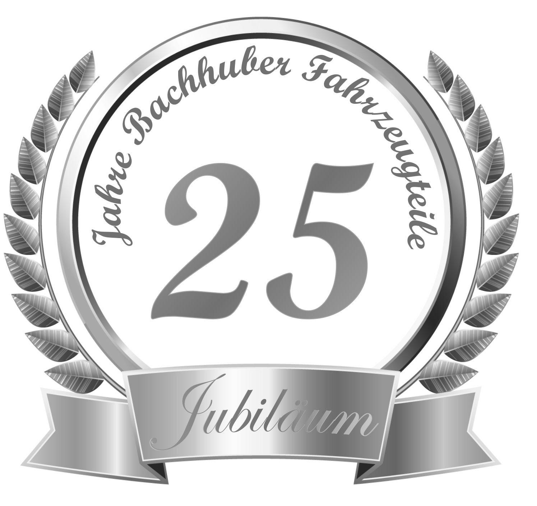 25 Jähriges Firmenjubiläum Geschenke  Bachhuber Fahrzeugteile Geschichte