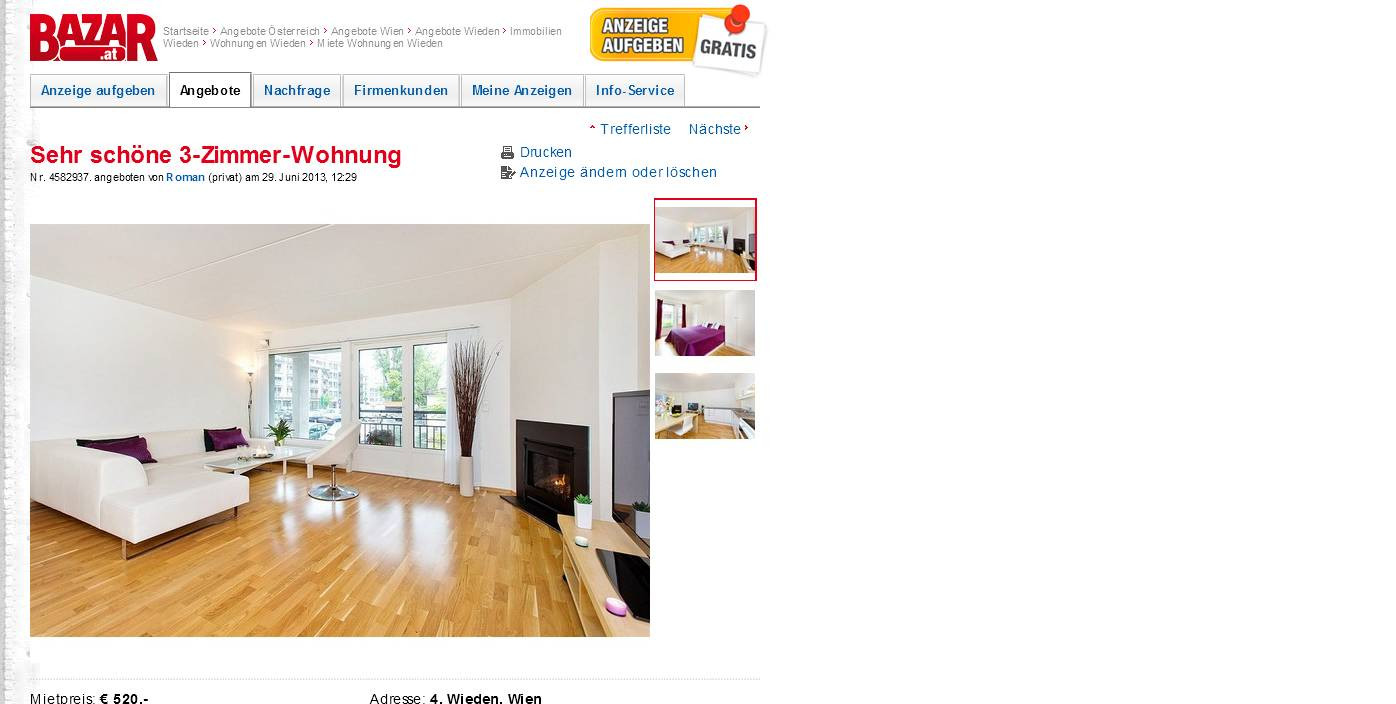 3 Zimmer Wohnung Kempen  wohnungsbetrug Sehr schöne 3 Zimmer Wohnung