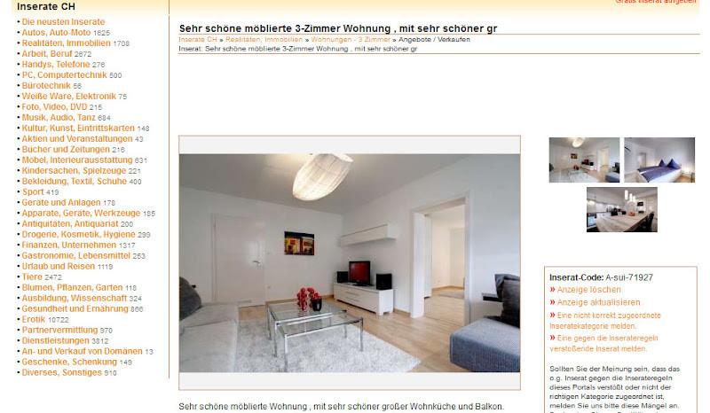 3 Zimmer Wohnung Kempen  wohnungsbetrug Sehr schöne möblierte 3
