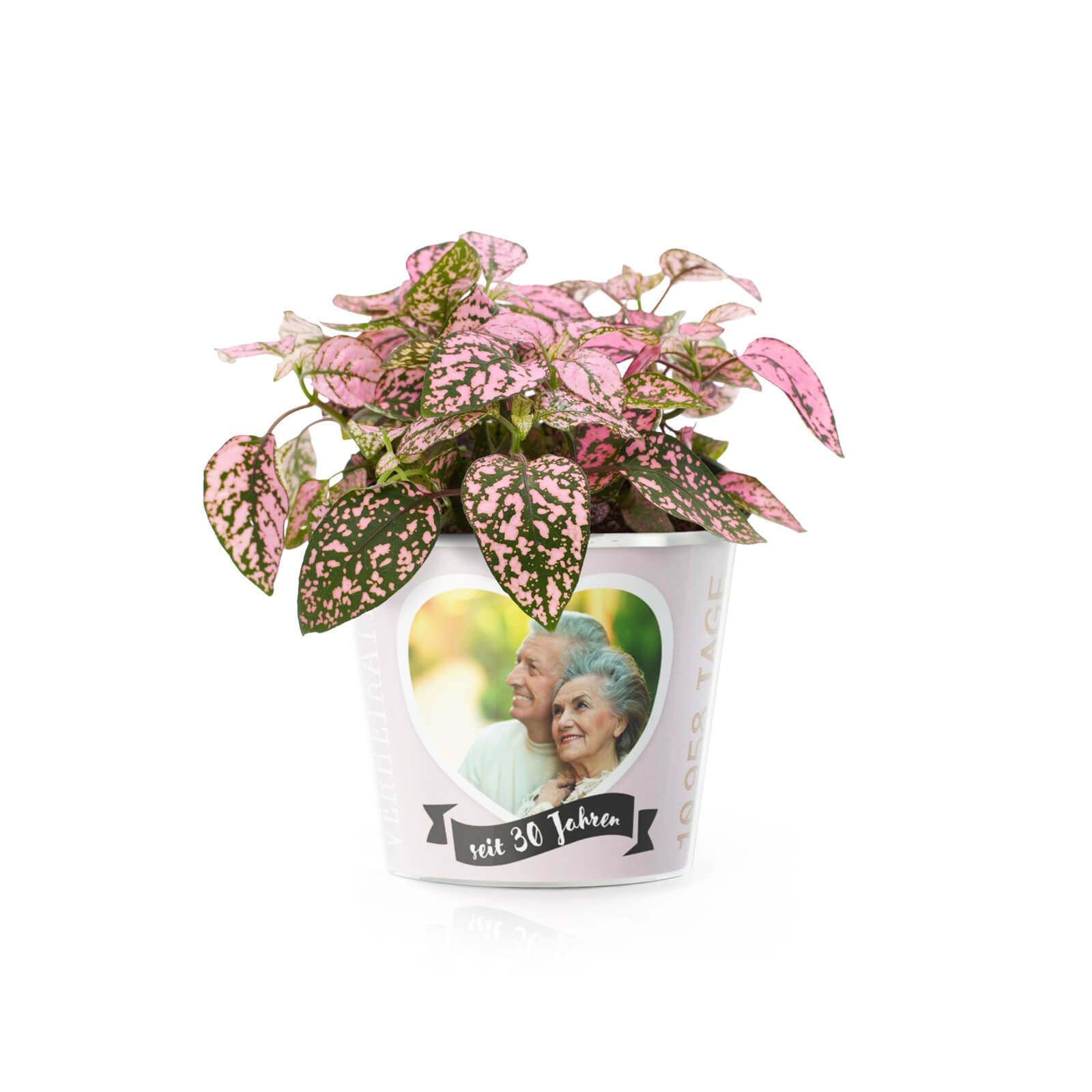 30 Hochzeitstag Geschenke Perlenhochzeit  30 Hochzeitstag Perlenhochzeit – Blumentopf von MyFacepot