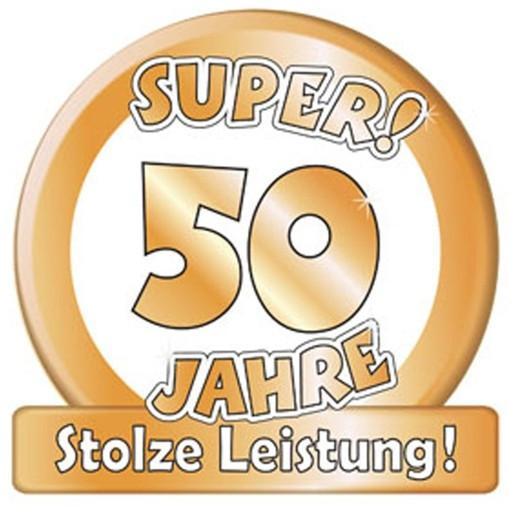 50 Jahre Hochzeit  Ballonsupermarkt lineshop Riesen Dekoschild Super
