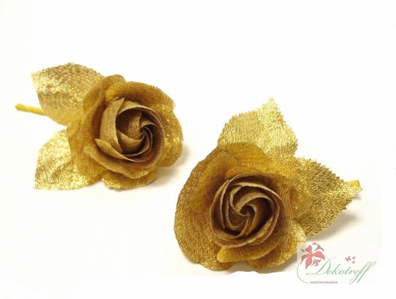50 Jahre Hochzeit  Goldhochzeit 50 Jahre Ehe gold Rosen Anstecker als