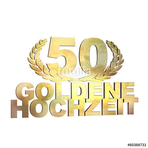 """50 Jahre Hochzeit  """"50 Jahre Goldene Hochzeit"""" Stockfotos und lizenzfreie"""