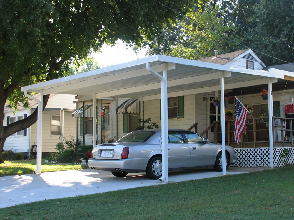 Alu Carport  20 x 24 Free Standing Aluminum Carport Kit 032 or
