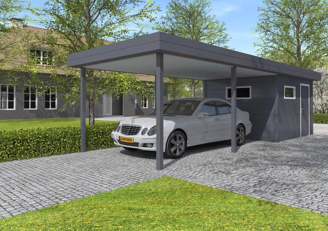 Alu Carport  Aluminium Carports von Gardendreams International GmbH