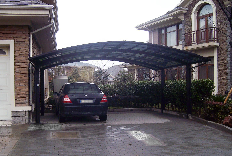 Alu Carport  BERNSTEIN Aluminium Carport pulverbeschichtet 5400 x 2700