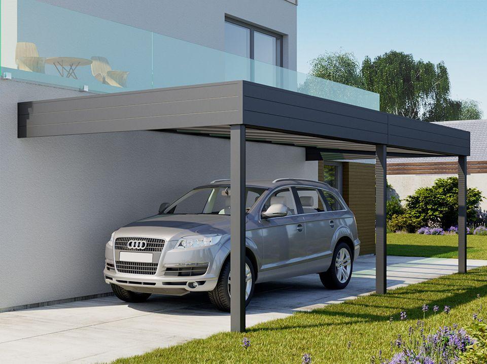 Alu Carport  Carport aluminium adosse TALIS 6 x 3 5 m Direct Abris