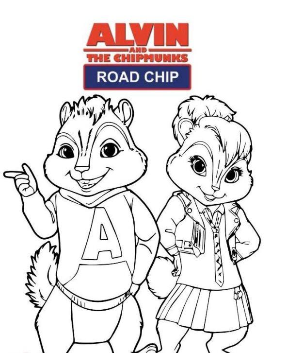 top 20 alvin und die chipmunks ausmalbilder  beste