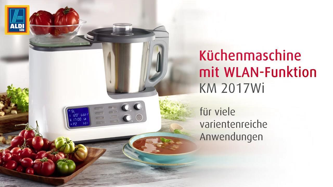 Ambiano Küchenmaschine  AMBIANO Küchenmaschine mit WLAN Funktion