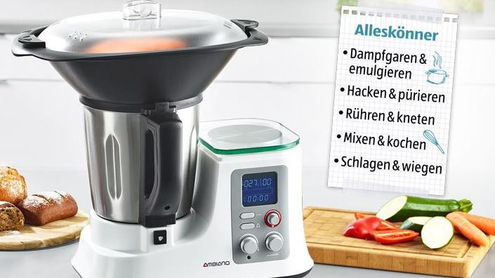 Ambiano Küchenmaschine  Aldi Thermomix