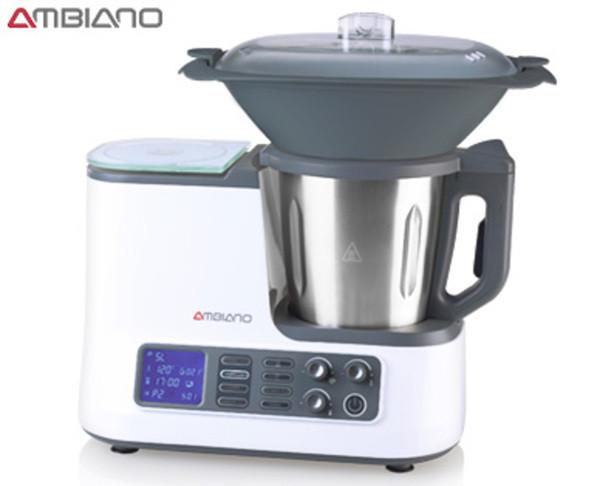 Ambiano Küchenmaschine  AMBIANO Küchenmaschine mit WLAN Funktion von Aldi Süd