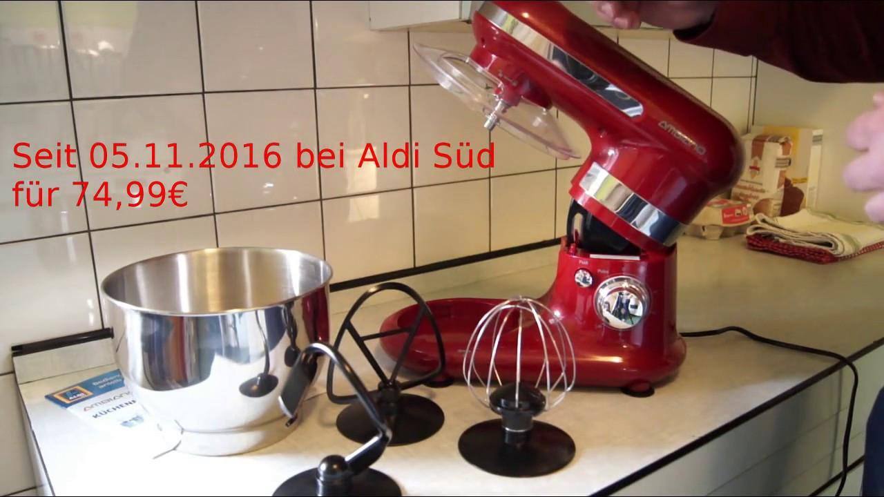 Ambiano Küchenmaschine  Aldi Ambiano Küchenmaschine im Test