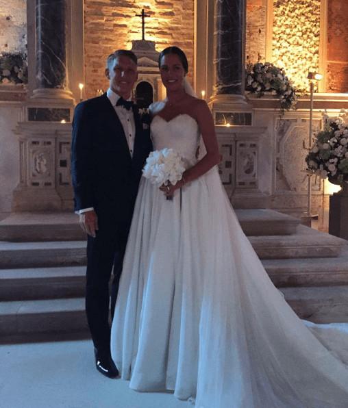 Ana Ivanovic Hochzeit  Bastian Schweinsteiger & Ana Ivanovic Die ersten