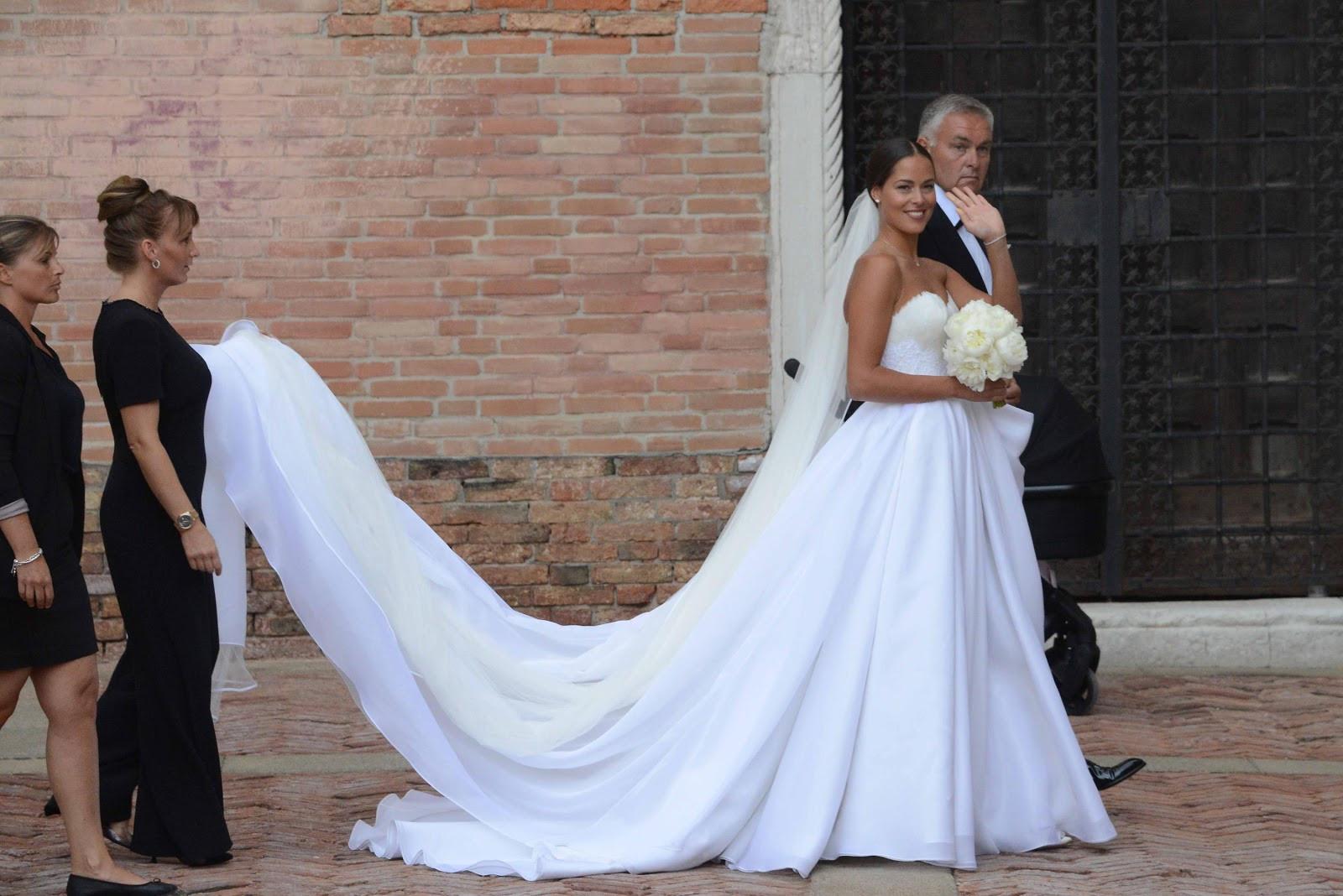 Ana Ivanovic Hochzeit  Ana Ivanovic Married Bastian Schweinsteiger Twice