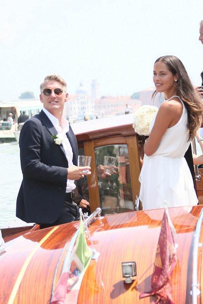 Ana Ivanovic Schweinsteiger Hochzeit  Die Hochzeit von Ana Ivanovic und Bastian Schweinsteiger