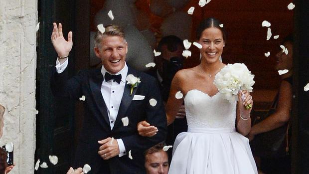Ana Ivanovic Schweinsteiger Hochzeit  Bastian Schweinsteiger und Ana Ivanović haben sich in