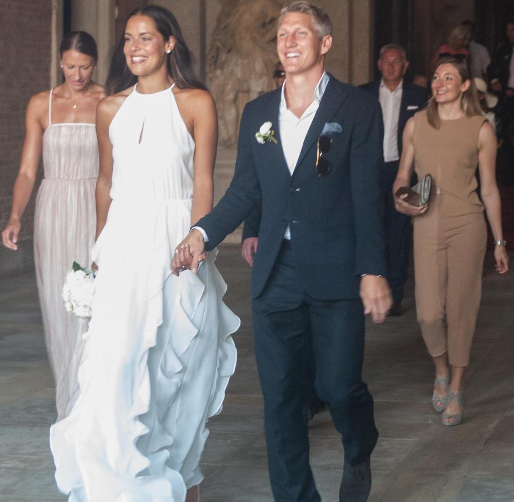 Ana Ivanovic Schweinsteiger Hochzeit  Bastian Schweinsteiger und Ana Ivanovic haben kirchlich