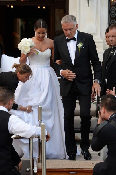 Ana Ivanovic Schweinsteiger Hochzeit  Hochzeit von Ana Ivanovic und Bastian Schweinsteiger VOGUE