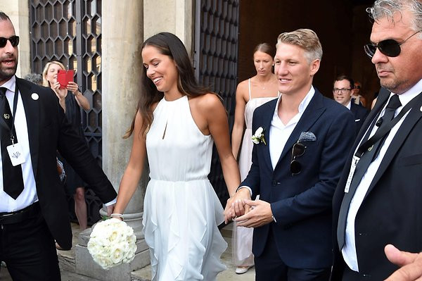 Ana Ivanovic Schweinsteiger Hochzeit  Hochzeit von Bastian Schweinsteiger und Ana Ivanovic