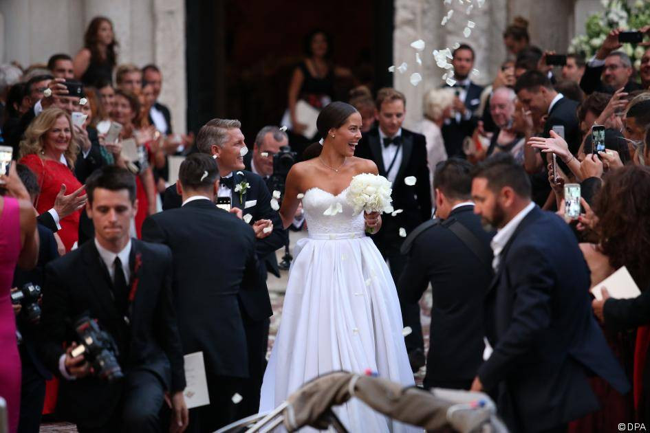 Ana Ivanovic Schweinsteiger Hochzeit  Bastian Schweinsteiger und Ana Ivanovic Bilder ihrer